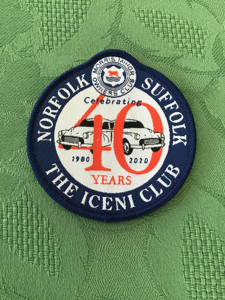 40th Anniversary Sew-on Badge - Iceni Minors