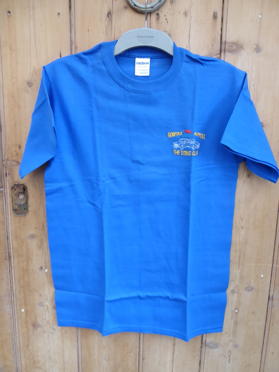 Blue Tee Shirt - Iceni Minors Regalia