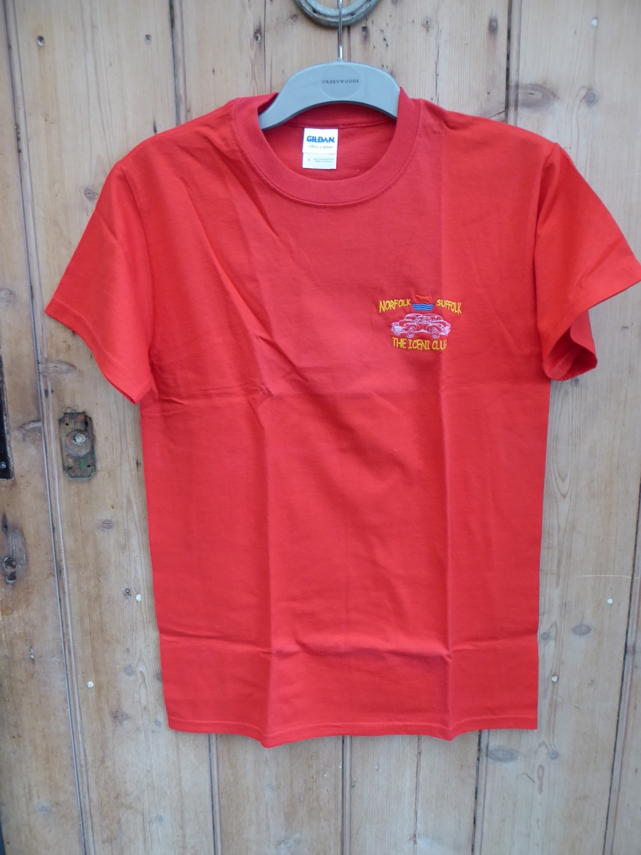 Red Tee Shirt - Iceni Minors Regalia