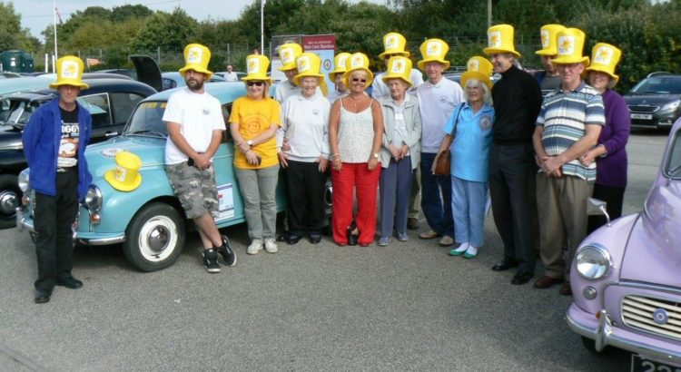 Marie Curie Charity Marathon Car September 2016 - Iceni Minors
