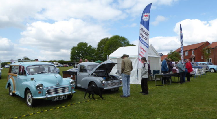 Classic Car Show Rickinghall May 2019 - Iceni Minors